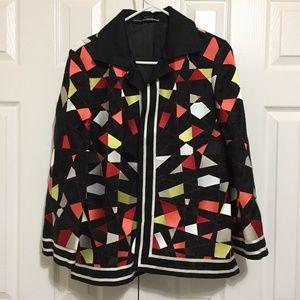 Linda Allard Ellen Tracy Jacket Blazer Size 8 Coat